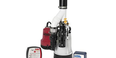 Basement Watchdog Submersible Combination Sump Pump System