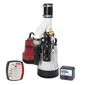 Glentronics, Inc. DFK-961 Basement Watchdog Submersible Combination Sump Pump System