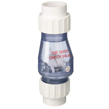 Campbell Check Valve Quiet