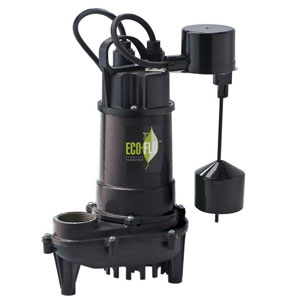 ECO-FLO Products ECD33V Products Submersible Sump Pump