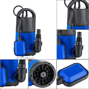 Homdox 1HP 3566 GPH Submersible Clean Water Sump Pump