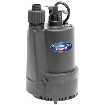 Superior Pump Thermoplastic Submersible Utility Pump