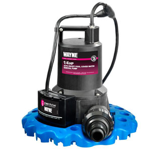 WAYNE 57729 WYNP WAPC250 Automatic ON/OFF Water Removal Pool Cover Pump