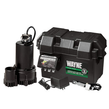 WAYNE Battery Back-Up System with Audible Alarm