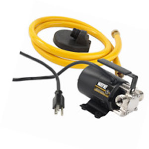 WAYNE PC2 Portable Transfer Water Pump With Suction Hose And Attachment