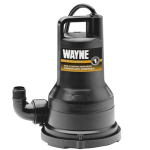 Wayne VIP50 Thermoplastic Portable Electric Water Removal Pump