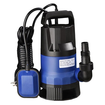 Yescom Submersible Dirty Clean Water Pump