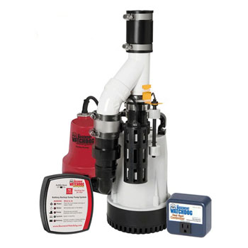 Glentronics Basement Watchdog Submersible Combination Sump Pump System
